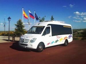 Alquiler de microbuses en Madrid para bodas
