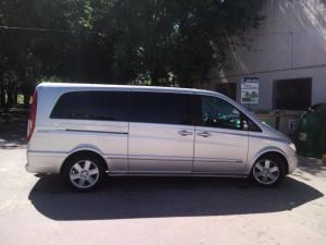 alquiler de minivan para excursion