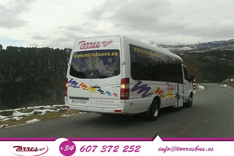 Alquiler De Microbuses Por Madrid Sin Conductor