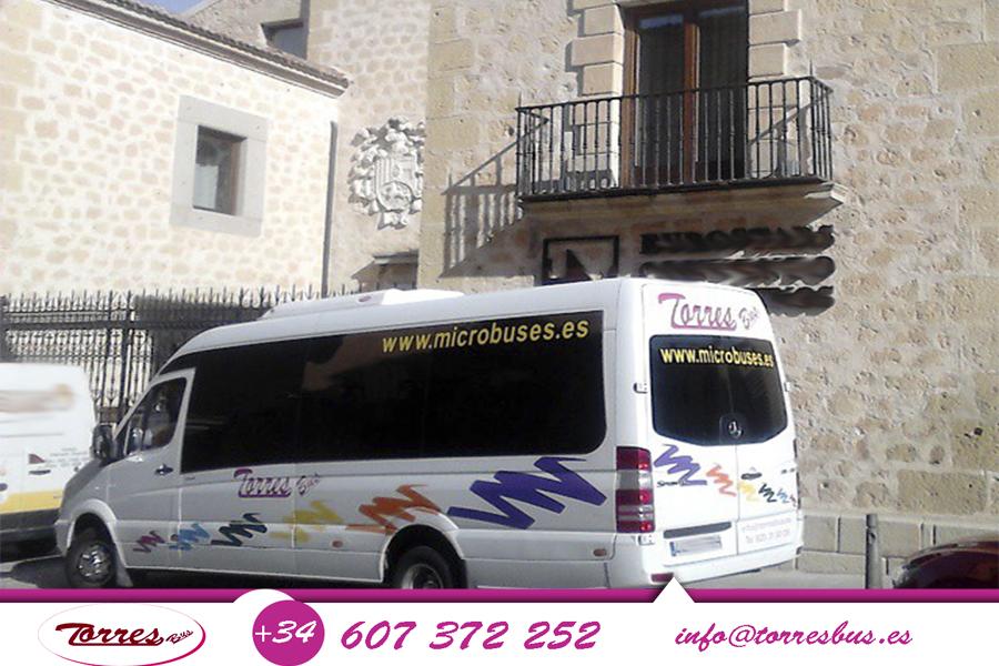 Microbuses De Alquiler Por Madrid Con Conductor