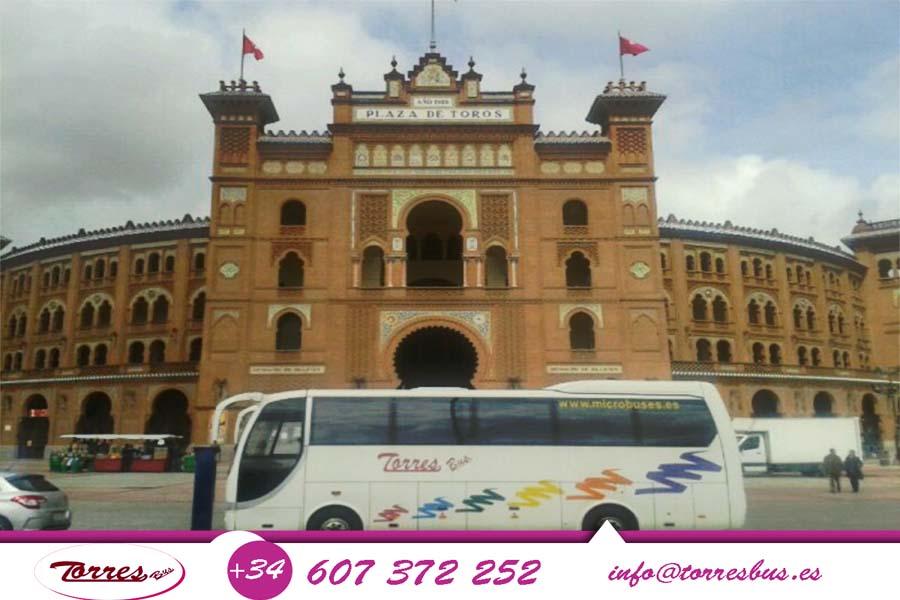 Renta De Minibus Madrid 600x450