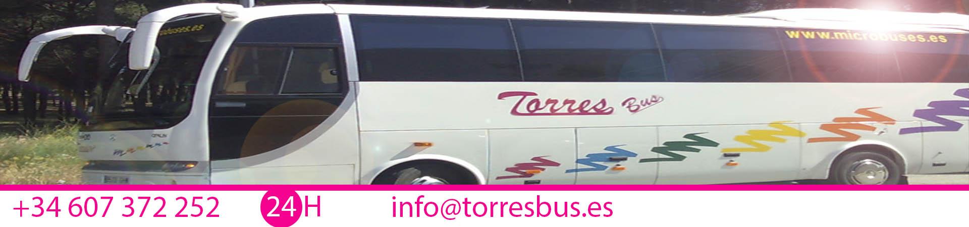 Alquiler De Microbus En Madrid Para Transporte Escolar