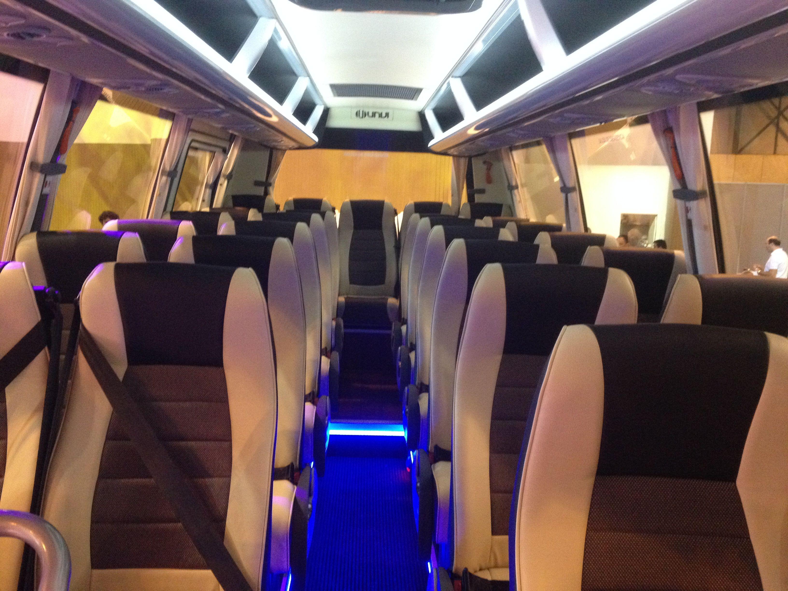 Minibús de lujo: una nueva expresión de estatus