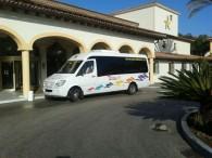 Plazas de microbús de alquiler 16 - 25 - 35 plazas