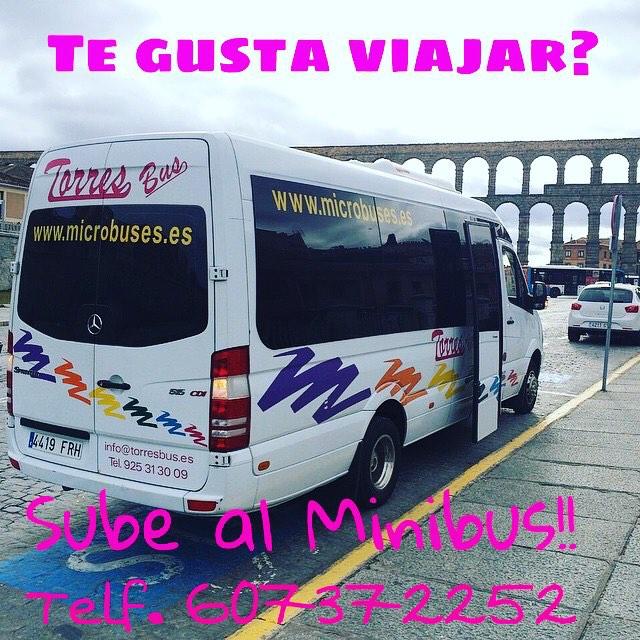 Plazas microbús los hay de 16 - 20 - 25 y 35 plazas