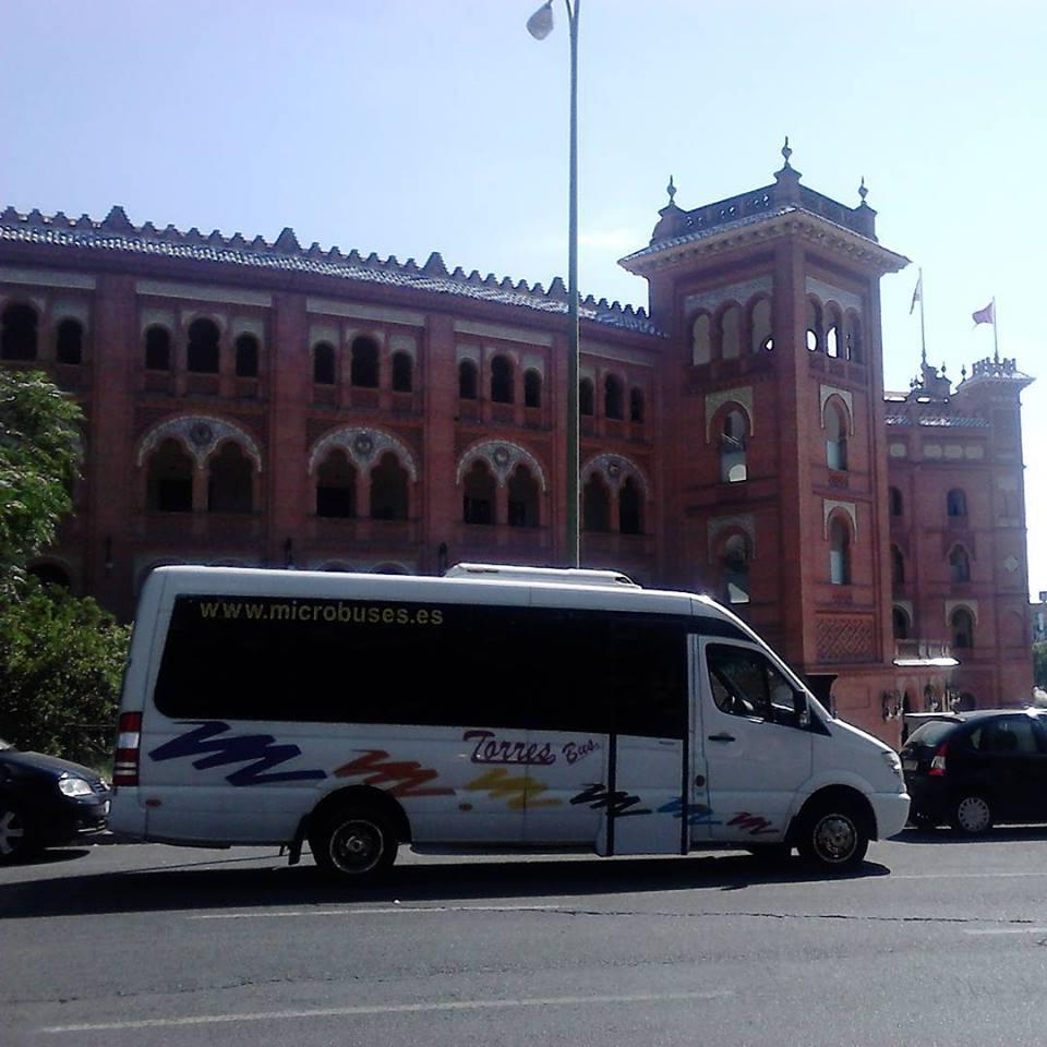 Microbus con conductor 15 plazas en Madrid y Toledo