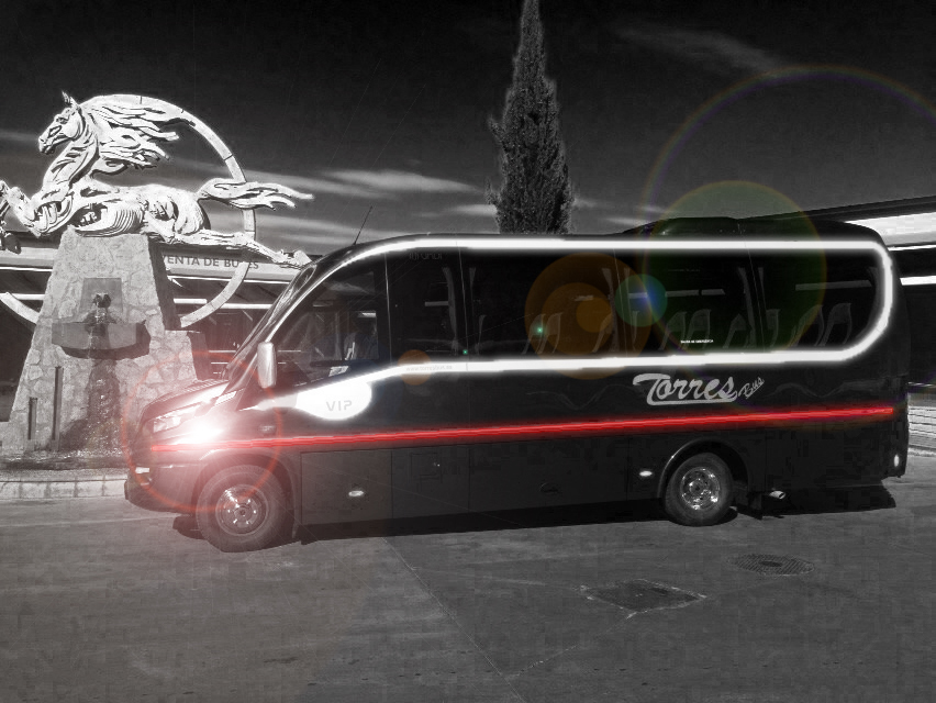 alquiler autobús 25 plazas: vehículo para bodas Madrid