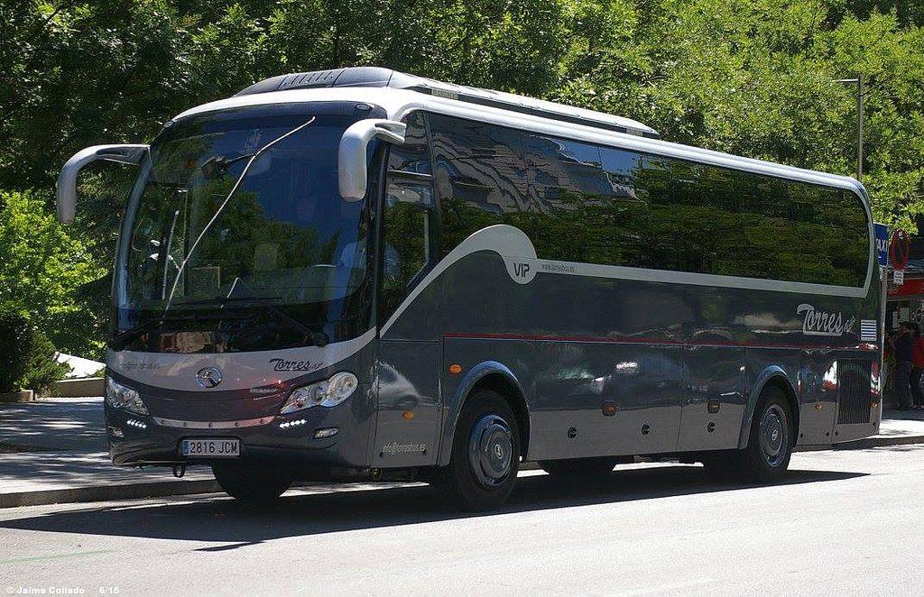 Microbuses: Precio alquiler autobús 1 día excursion o boda