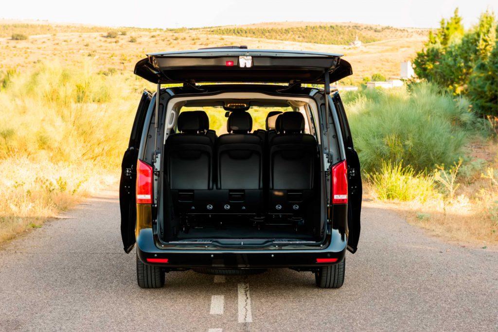 minivan lujo vip madrid boda transporte de invitados