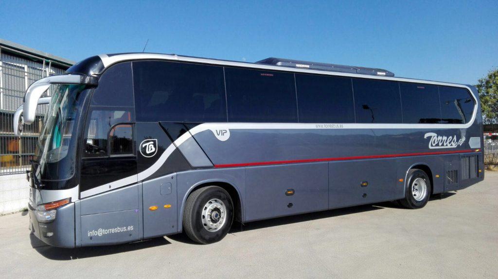 Alquiler De Autobuses Vip Madrid 54 Plazas Para Tranporte De Pasajeros 1024x575