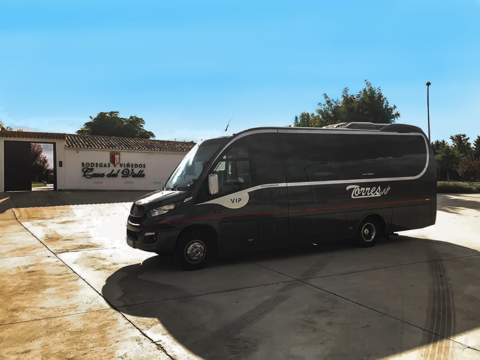 Alquiler de microbuses y minibuses en madrid